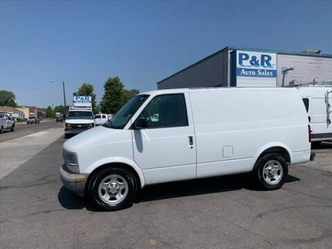 2004 Chevrolet Astro Cargo for sale at P & R Auto Sales in Pocatello ID