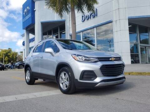 2019 Chevrolet Trax for sale at DORAL HYUNDAI in Doral FL