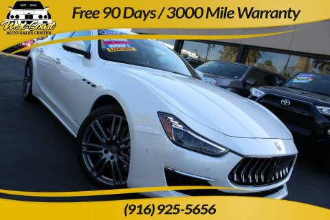 2018 Maserati Ghibli for sale at West Coast Auto Sales Center in Sacramento CA