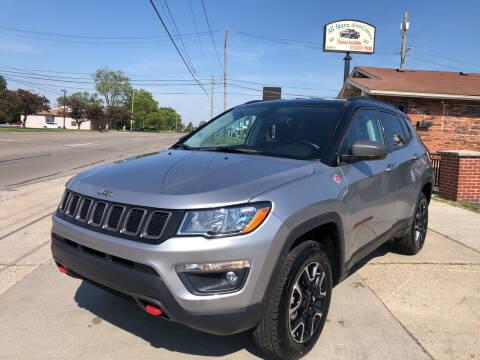 2020 Jeep Compass for sale at All Starz Auto Center Inc in Redford MI