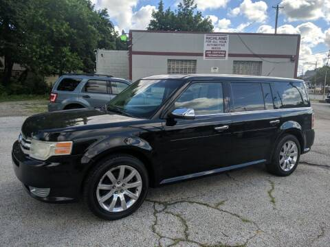 2011 Ford Flex for sale at Richland Motors in Cleveland OH