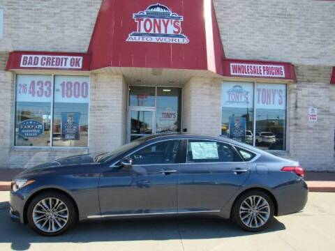 2015 Hyundai Genesis for sale at Tony's Auto World in Cleveland OH