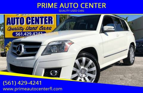 2011 Mercedes-Benz GLK for sale at PRIME AUTO CENTER in Palm Springs FL