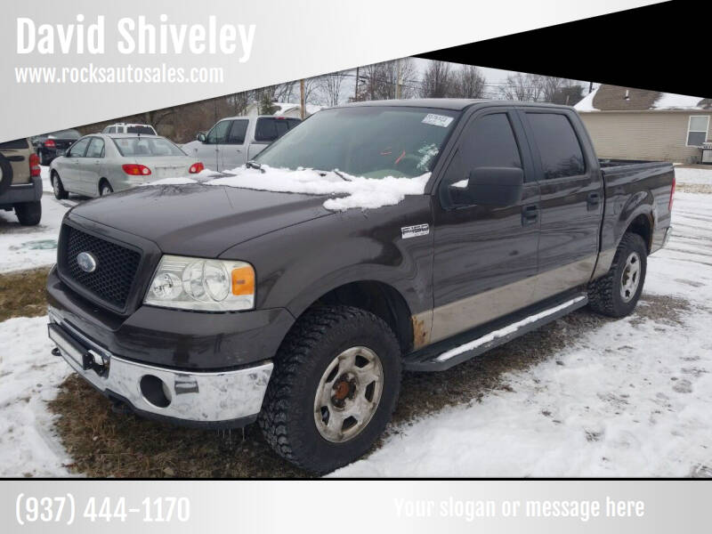 2006 Ford F-150 for sale at David Shiveley in Mount Orab OH