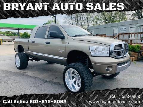 2008 Dodge Ram Pickup 1500 for sale at BRYANT AUTO SALES in Bryant AR
