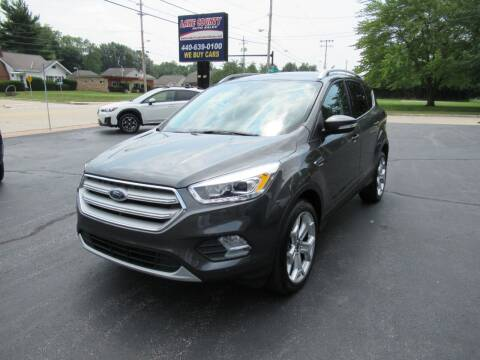 2019 Ford Escape for sale at Lake County Auto Sales in Painesville OH