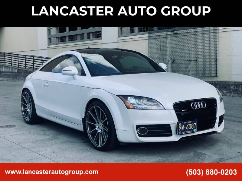 2012 Audi TT for sale at LANCASTER AUTO GROUP in Portland OR
