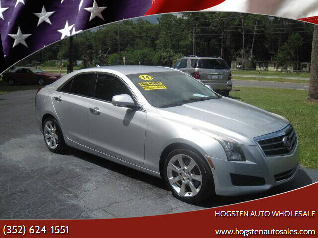 2014 Cadillac ATS for sale at HOGSTEN AUTO WHOLESALE in Ocala FL