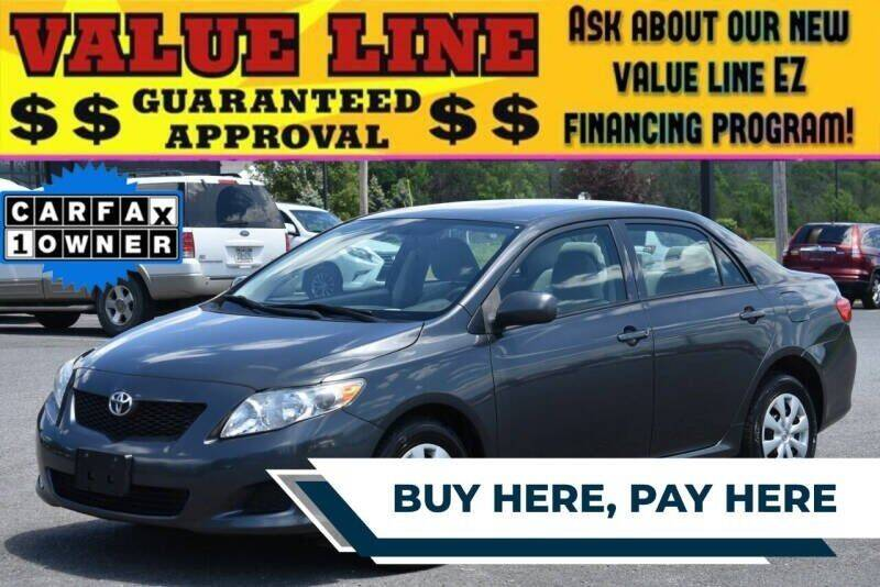 2010 Toyota Corolla for sale at Broadway Motor Car Inc. in Rensselaer NY