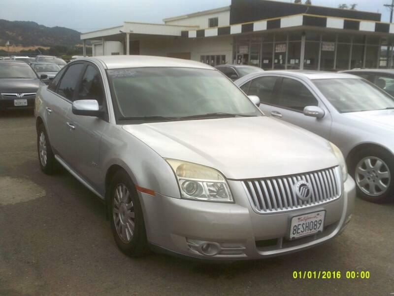 2008 Mercury Sable for sale at Mendocino Auto Auction in Ukiah CA