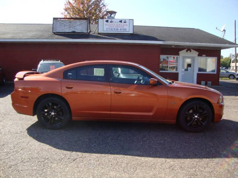 2011 Dodge Charger for sale at G and G AUTO SALES in Merrill WI