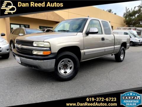 1999 Chevrolet Silverado 2500 for sale at Dan Reed Autos in Escondido CA