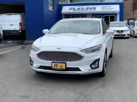 2019 Ford Fusion for sale at AGM AUTO SALES in Malden MA