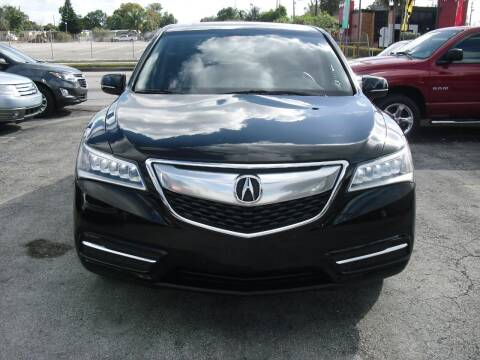 2015 Acura MDX for sale at SUPERAUTO AUTO SALES INC in Hialeah FL