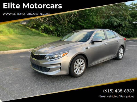 2017 Kia Optima for sale at Elite Motorcars in Smyrna TN