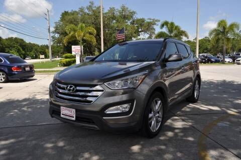 2013 Hyundai Santa Fe Sport for sale at STEPANEK'S AUTO SALES & SERVICE INC. in Vero Beach FL
