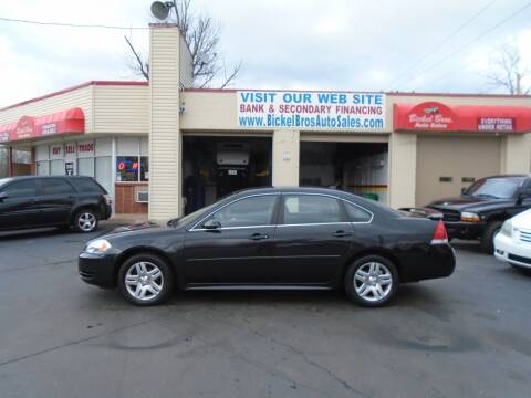 2012 Chevrolet Impala for sale at Bickel Bros Auto Sales, Inc in Louisville KY