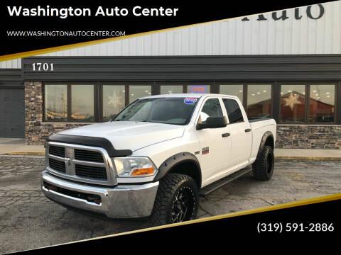 2012 RAM Ram Pickup 2500 for sale at Washington Auto Center in Washington IA
