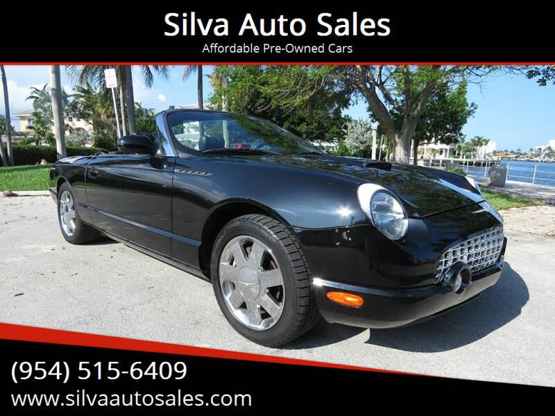 2002 Ford Thunderbird for sale at Silva Auto Sales in Pompano Beach FL