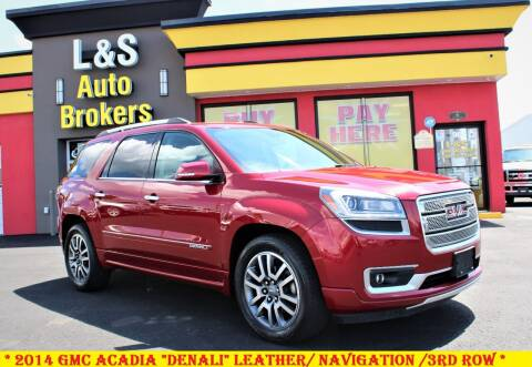 2014 GMC Acadia for sale at L & S AUTO BROKERS in Fredericksburg VA