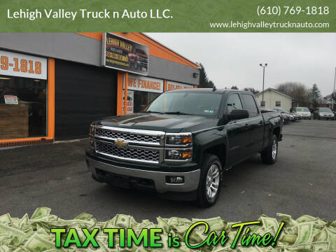 2014 Chevrolet Silverado 1500 for sale at Lehigh Valley Truck n Auto LLC. in Schnecksville PA