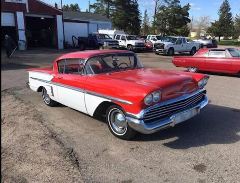 1958 Chevrolet Impala for sale at Four Boys Motorsports in Wadena MN