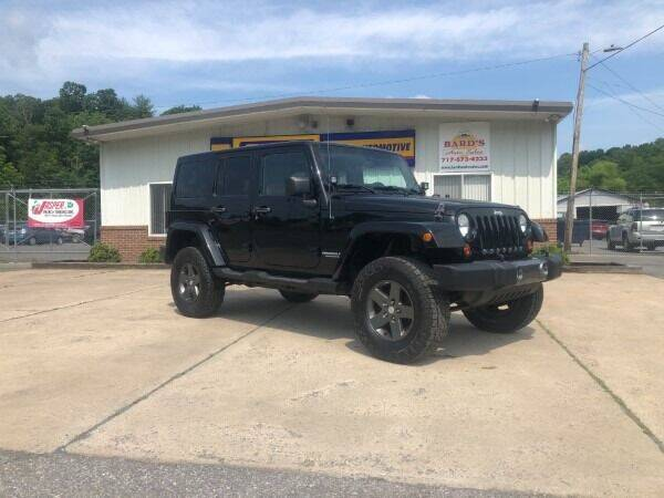 2011 Jeep Wrangler Unlimited for sale at BARD'S AUTO SALES in Needmore PA