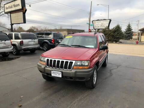 2002 Jeep Grand Cherokee for sale at SHEFFIELD MOTORS INC in Kenosha WI