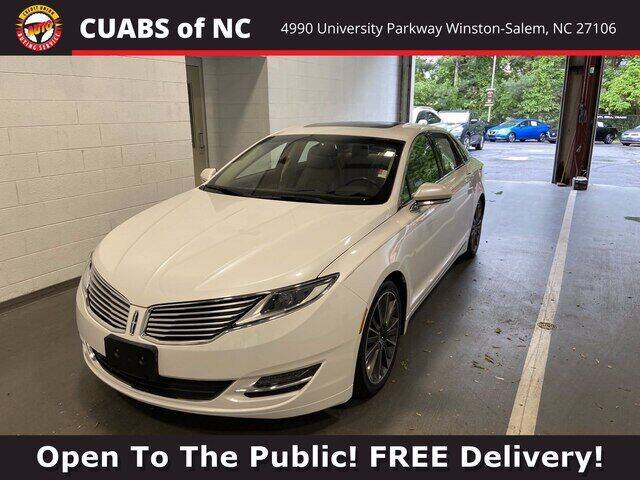 2016 Lincoln MKZ for sale at Summit Credit Union Auto Buying Service in Winston Salem NC