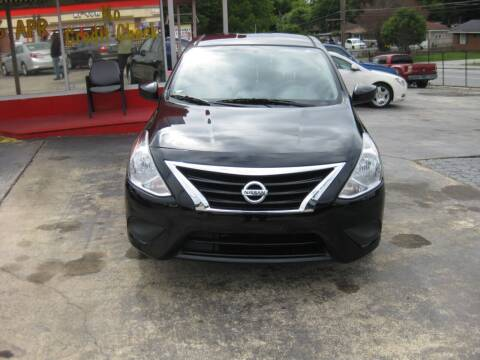 2017 Nissan Versa for sale at LAKE CITY AUTO SALES in Forest Park GA
