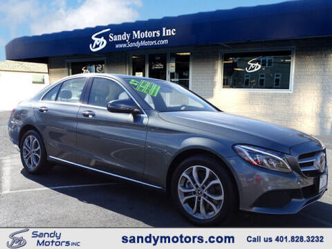 2017 Mercedes-Benz C-Class for sale at Sandy Motors Inc in Coventry RI