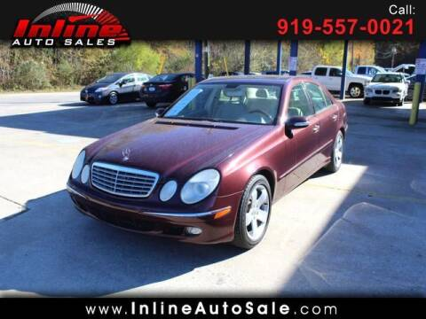 2006 Mercedes-Benz E-Class for sale at Inline Auto Sales in Fuquay Varina NC