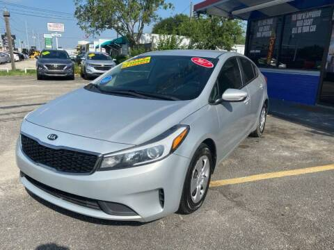 2017 Kia Forte for sale at Cow Boys Auto Sales LLC in Garland TX