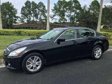 2013 Infiniti G37 Sedan for sale at Jeep and Truck USA in Tampa FL