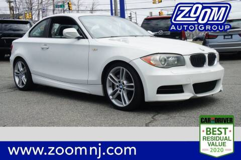 2011 BMW 1 Series for sale at Zoom Auto Group in Parsippany NJ