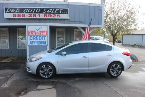 2016 Kia Forte for sale at D & B Auto Sales LLC in Washington MI