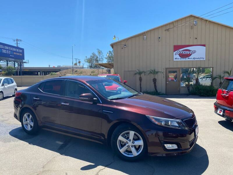 2015 Kia Optima for sale at Approved Autos in Bakersfield CA