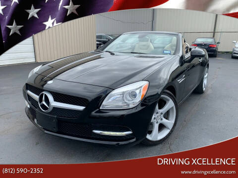 2012 Mercedes-Benz SLK for sale at Driving Xcellence in Jeffersonville IN