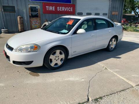 2006 Chevrolet Impala for sale at GREENFIELD AUTO SALES in Greenfield IA