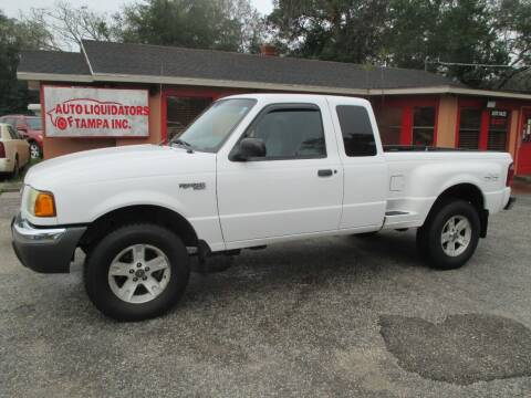 2002 Ford Ranger for sale at Auto Liquidators of Tampa in Tampa FL