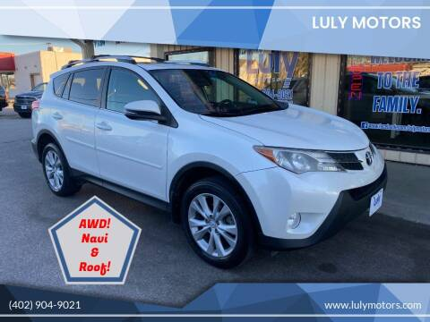 2014 Toyota RAV4 for sale at Luly Motors in Lincoln NE