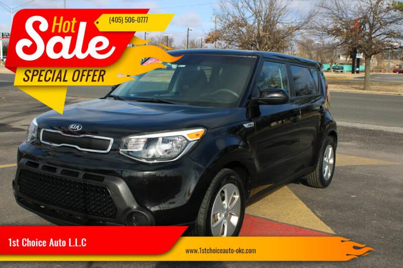 2015 Kia Soul for sale at 1st Choice Auto L.L.C in Oklahoma City OK