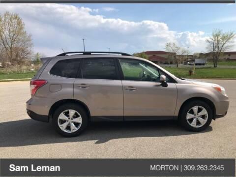 2014 Subaru Forester for sale at Sam Leman CDJRF Morton in Morton IL