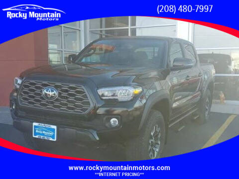 2020 Toyota Tacoma for sale at Rocky Mountain Motors in Idaho Falls ID