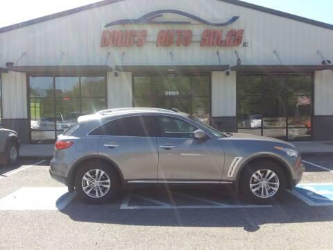 2011 Infiniti FX35 for sale at DOUG'S AUTO SALES INC in Pleasant View TN