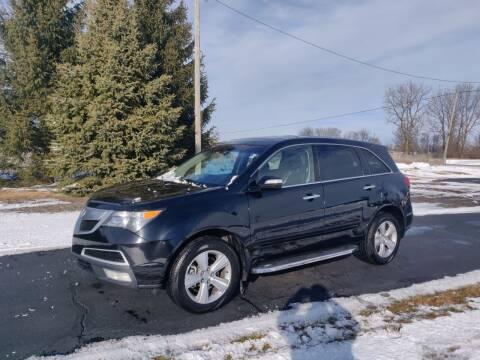 2011 Acura MDX for sale at Carmart Auto Sales Inc in Schoolcraft MI