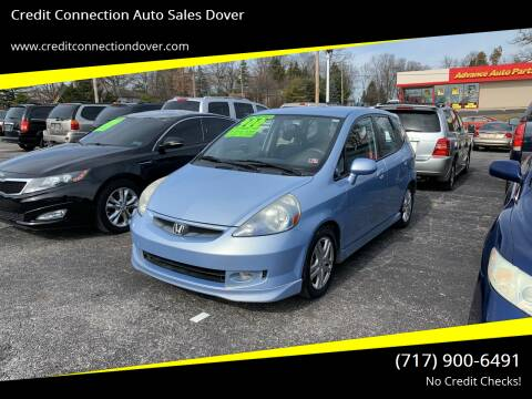 2008 Honda Fit for sale at Credit Connection Auto Sales Dover in Dover PA