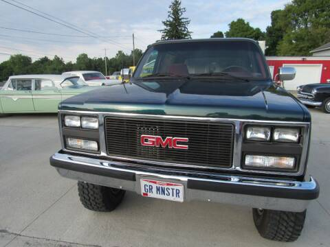 1988 GMC Yukon for sale at Whitmore Motors in Ashland OH