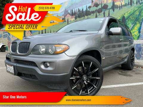 2004 BMW X5 for sale at Star One Motors in Hayward CA