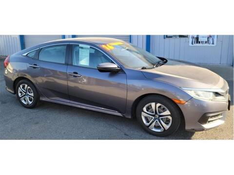 2016 Honda Civic for sale at ATWATER AUTO WORLD in Atwater CA